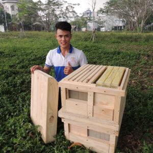 Thùng ong thông minh CK Bách Khoa